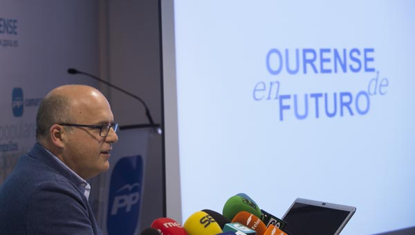 """Photo of Baltar presenta o seu """"Plan Ourense 15-19"""""""