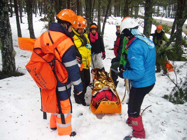 Photo of Formación en emerxencias en terreo nevado en Manzaneda