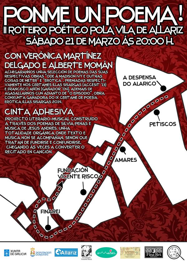 Photo of II roteiro poético pola vila de Allariz o 21 de marzo