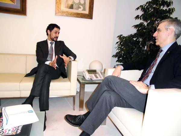 Photo of O deputado popular Moisés Blanco reúnese co conselleiro de Economía