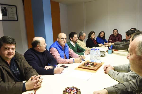 Photo of Comité executivo do PP do Barco e reunión do comité de campaña en Trives