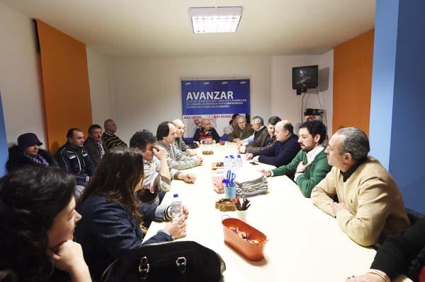 A reunión do comité executivo local do PP do Barco tiña lugar o 2 de marzo./ Foto: Carlos G. Hervella.