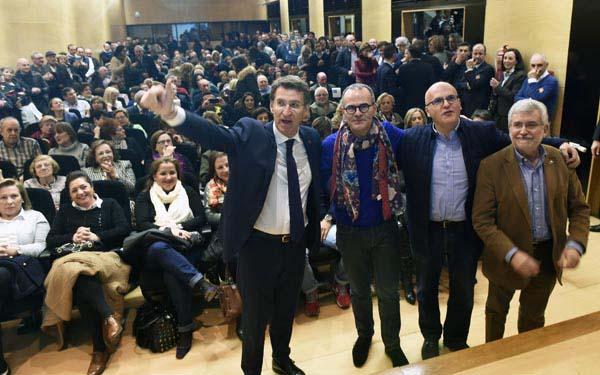 Photo of Presentación de Jesús Vázquez como candidato popular á alcaldía de Ourense