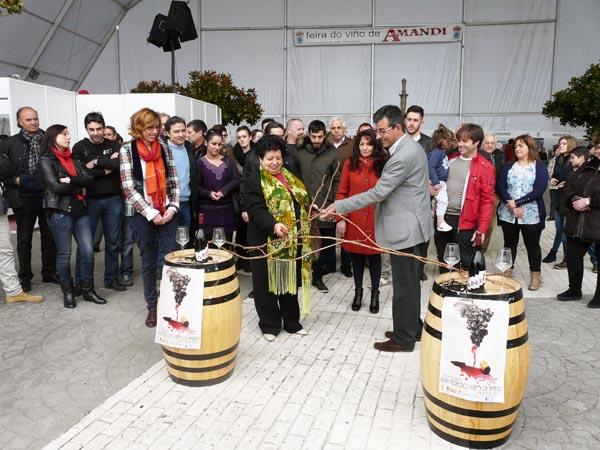 Photo of Malcavada abre a XXXV Feira do Viño de Amandi