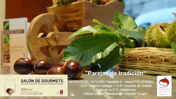 Photo of Castaña de Galicia promociónase en Gourmets en Madrid