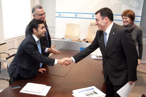 Photo of A directiva da Fegamp reúnese co conselleiro de Cultura