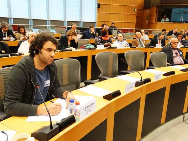 Photo of O alcalde de Manzaneda intervén no Parlamento Europeo