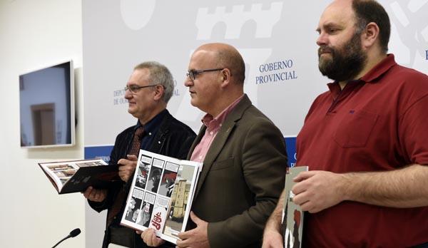 A presentación tiña lugar o 20 de abril no Centro Cultural da Deputación./ Foto: Carlos G. Hervella.