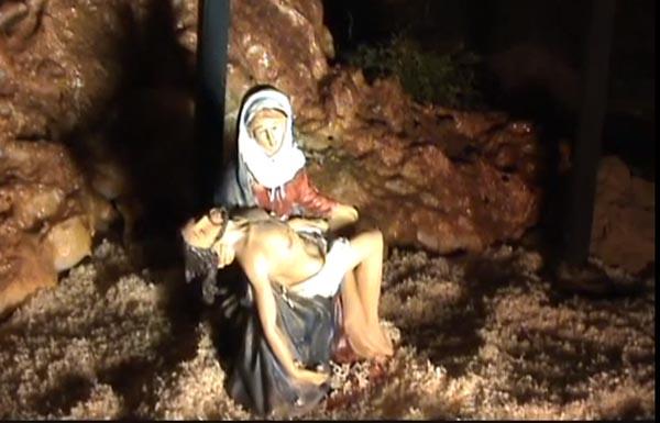 Photo of As esceas da paixón de Cristo, a pequena escala en Maceda