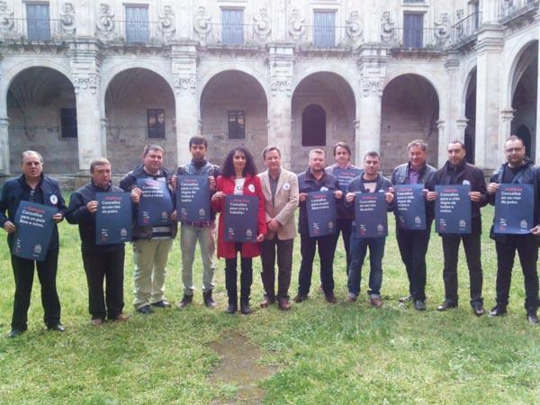 Photo of Vence, na presentación das candidaturas do BNG en Celanova-Baixa Limia