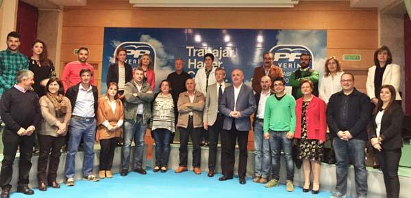 Photo of Presentación da candidatura do PP de Verín