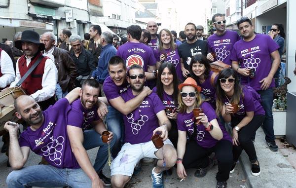 Photo of A ritmo de brindes, na  XXXIII Feira do Viño de Quiroga