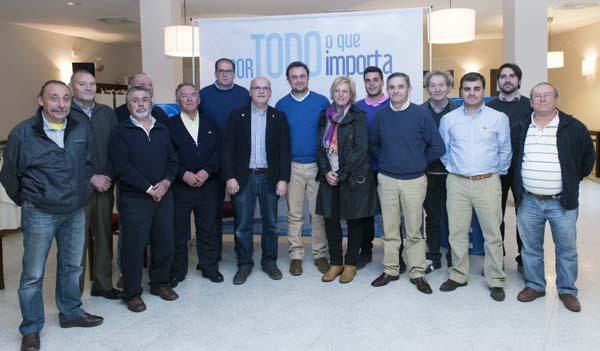 Photo of Presentación da candidatura do PP en Trives