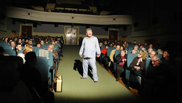 Photo of A maxia do teatro enche o Centro Cultural Avenida da Rúa