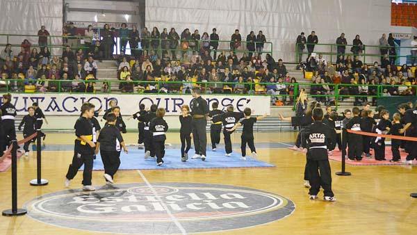 Photo of Campionato galego de kungfu moderno, en Ourense