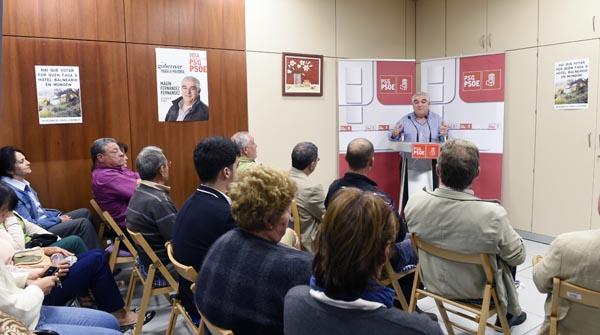 Photo of Charla-mitin do PSdeG-PSOE no Bolo
