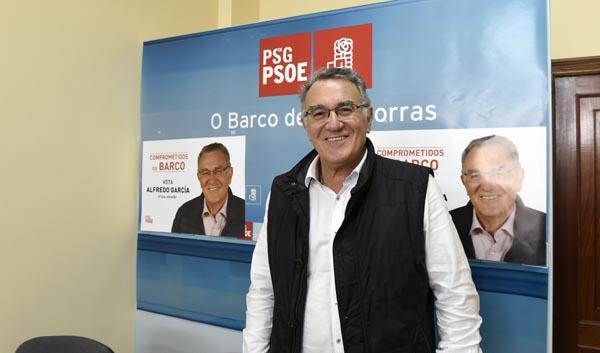 """Photo of A campaña dos socialistas barquenses será """"na rúa"""""""