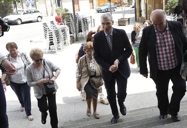 Photo of Visita do conselleiro de Economía á Rúa