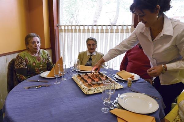 Photo of A valdeorresa Antonia López celebra o seu centenario