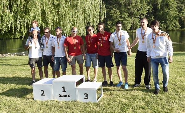 Photo of Catro podios barquenses, na primeira xornada do nacional de augas bravas