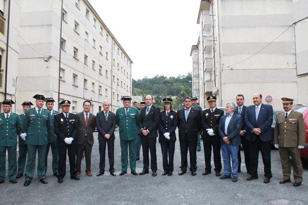 Photo of Conmemoración do 171º aniversario da Garda Civil, en Ourense
