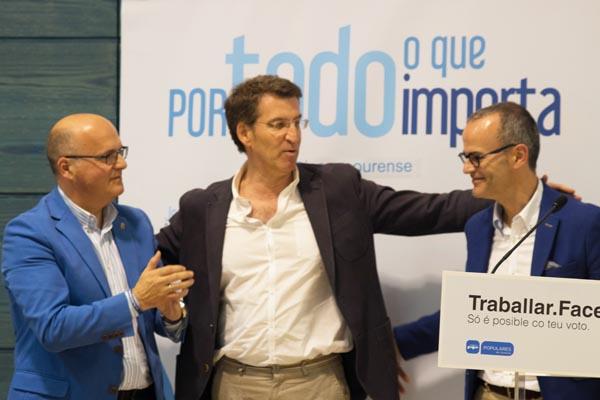 Photo of Mitín do PP en Ourense