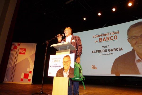 Photo of O socialista Alfredo García avoga polos servizos sociais e por un Barco sostible