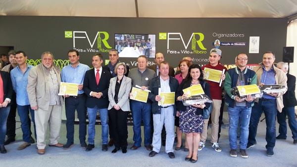 Photo of A Feira do Viño do Ribeiro despídese con premios