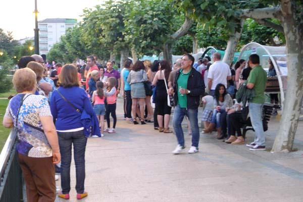 Photo of Viños de Valdeorras a ritmo de folk, no Malecón do Barco