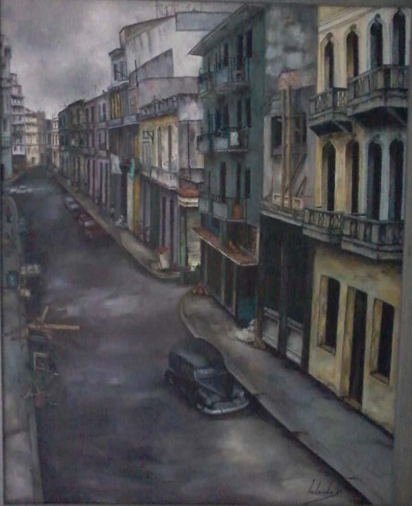 Unha das obras de Yolanda Pérez Rodríguez.