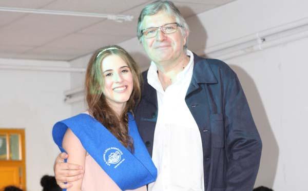 Photo of Unha estudante do IES Cosme López da Rúa, das mellores de Galicia