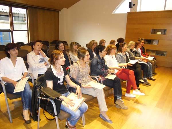 Photo of Entrega de diplomas do programa Clara, en Allariz