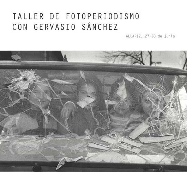 Photo of Obradoiro de fotoxornalismo con Gervasio Sánchez
