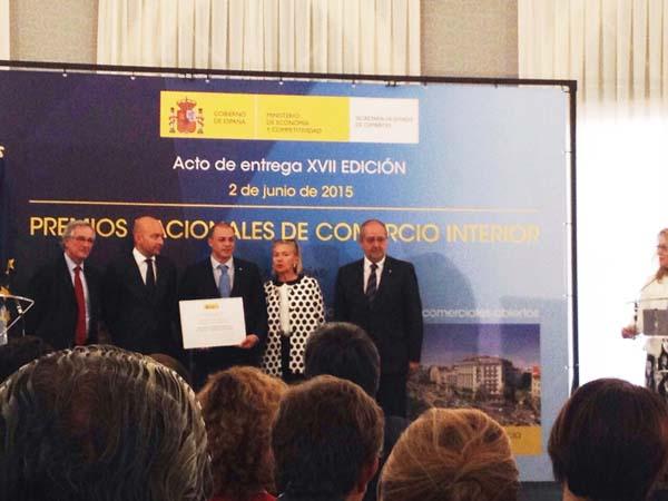 Photo of O Barco CCA, nos Premios Nacionais de Comercio Interior