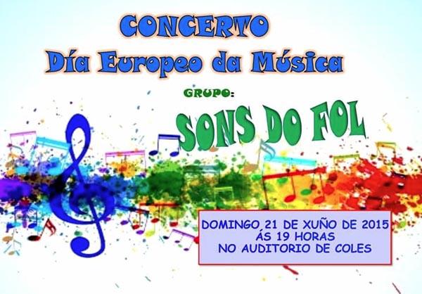 Photo of Coles festexa o Día Europeo da Música con Sons do Fol