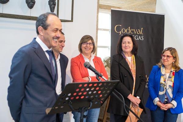 Photo of Presentación do novo viño de Godeval, en Santiago