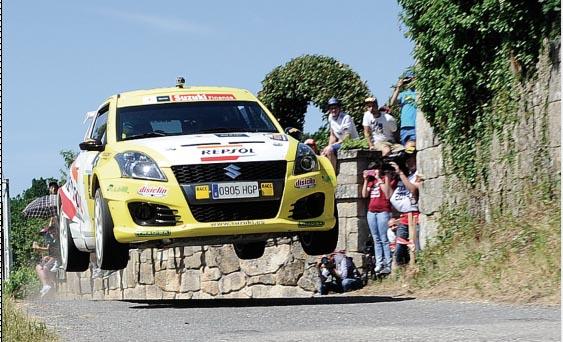 Imaxe dun dos tramos da pasada edición do Rallye de Ourense./ Foto: Carlos G. Hervella.