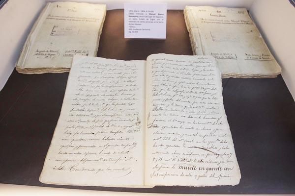 Documentación relativa á causa de Manuel Blanco Rosamanta.