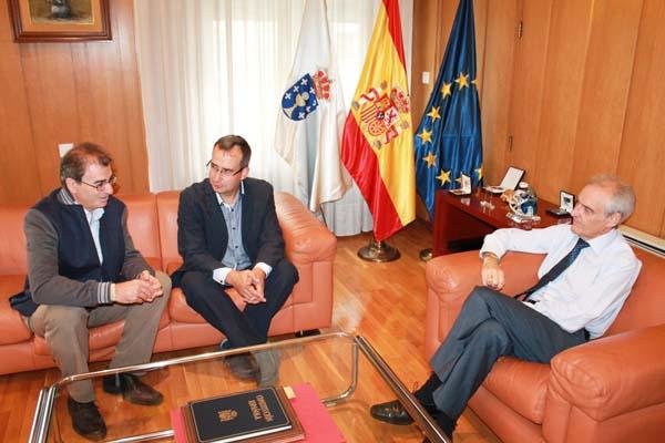 Photo of Castro recibe ao novo xefe da Inspección de Telecomunicacións de Ourense