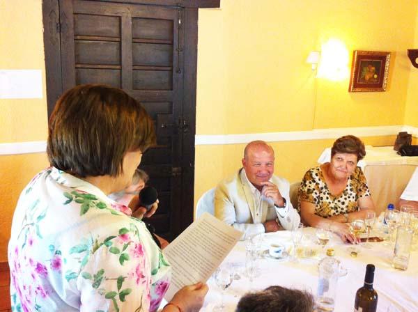 Photo of Homenaxe do IES Martaguisela a dous profesores pola súa xubilación