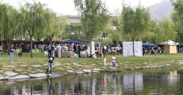 As actividades terán lugar no anfiteatro da praia fluvial de San Clodio. /Foto: Carlos G. Hervella.
