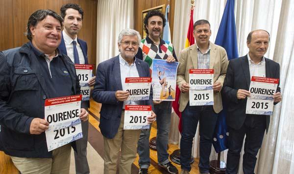 Photo of Campionato galego absoluto de atletismo en pista, en Ourense