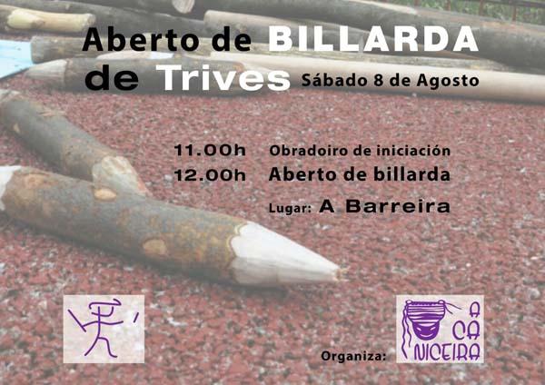 Photo of A Liga Nacional de Billarda chega a Trives