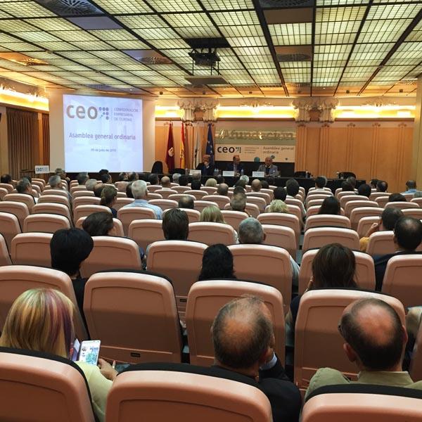Photo of Asemblea xeral da CEO, en Ourense