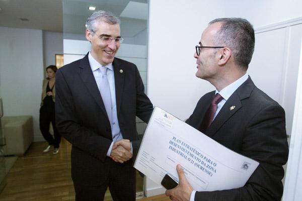 Photo of O alcalde de Ourense reúnese co conselleiro de Economía