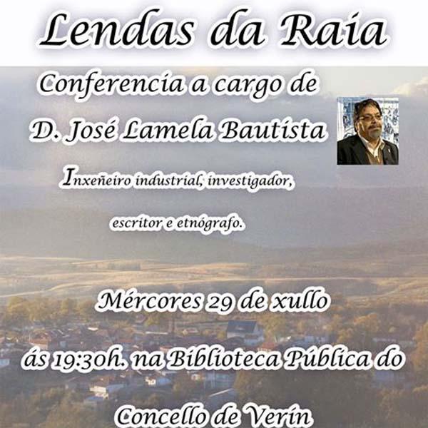 Photo of Conferencia de José Lamela na biblioteca de Verín o 29 de xullo