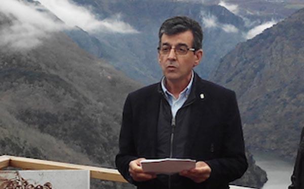 Photo of O alcalde de Sober, presidente do Consorcio de Turismo da Ribeira Sacra