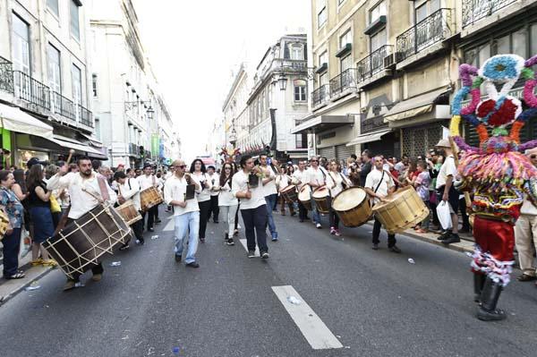 O Folión de Viana do Bolo, nunha das súas saídas./ Foto: Carlos G. Hervella.