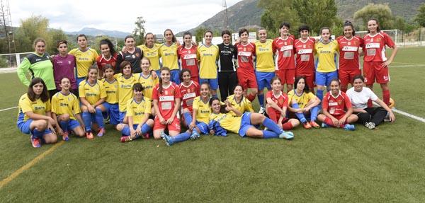 Photo of O fútbol feminino quenta motores na Rúa