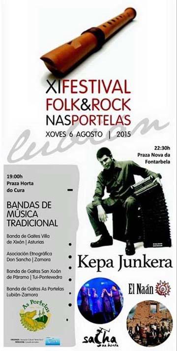 Photo of Kepa Junkera no XI Festival Folk&Rock nas Portelas